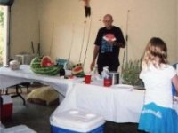 Benny with Watermelon